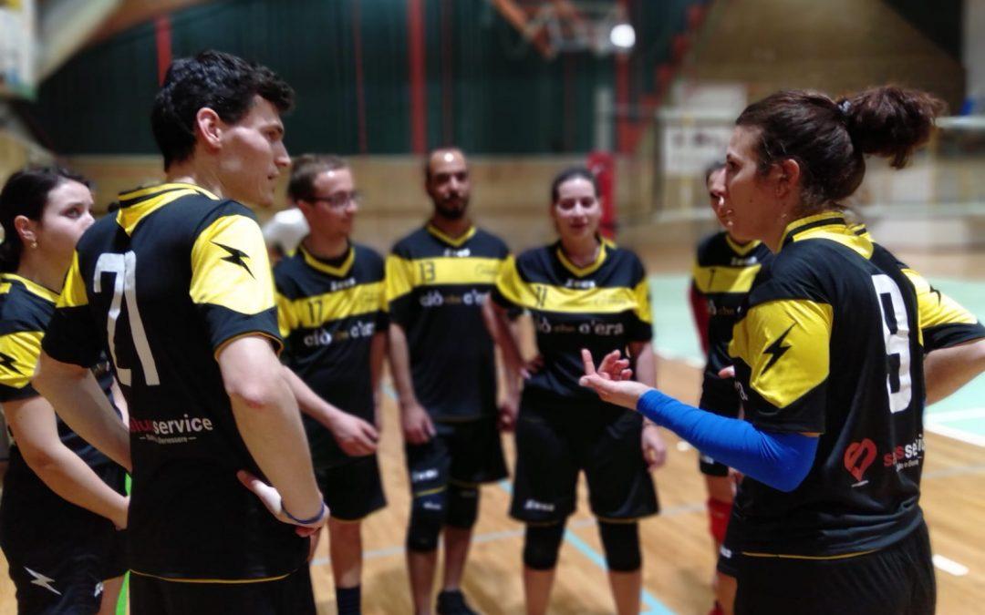 Volley Cormold sconfitta dai primi in classifica.